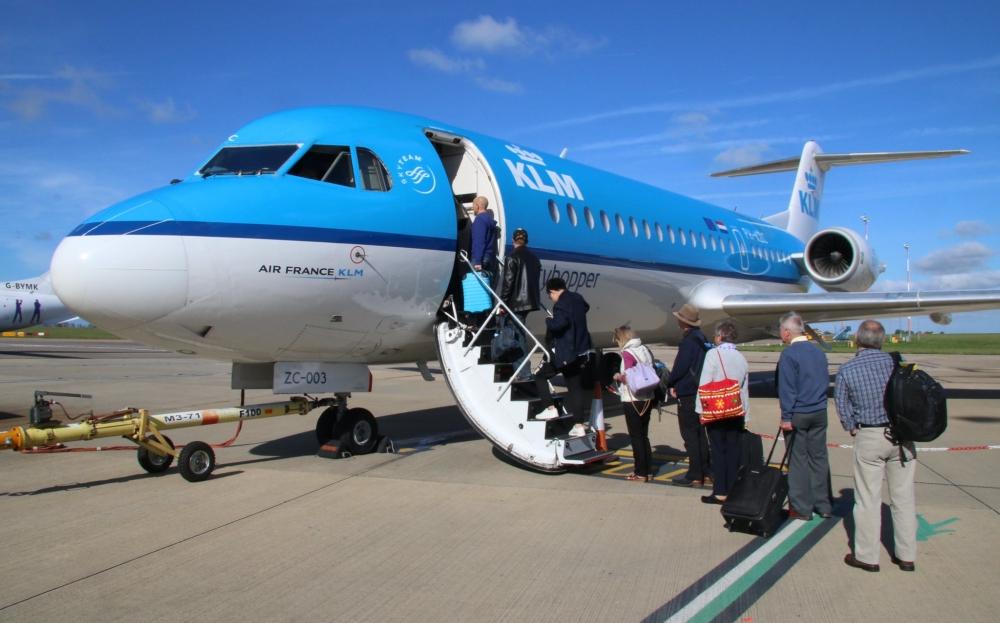 KLM Cityhopper Norwich