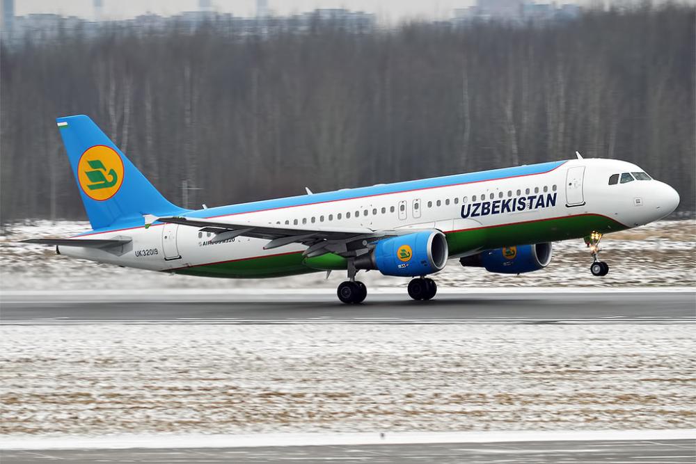 Uzbekistan Airways A320