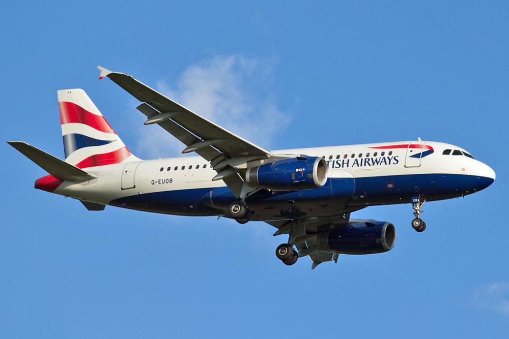 BA A319 Gatwick