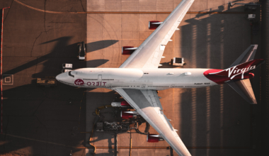 Virgin Orbit Boeing 747