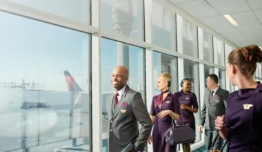 Delta flight attendants