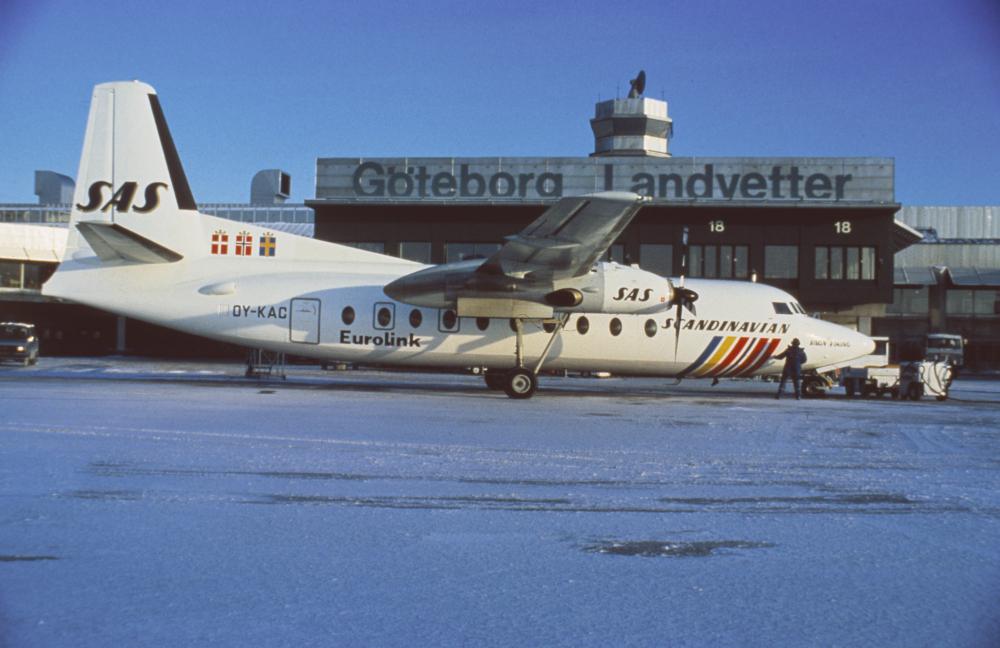 SAS Fokker F.27