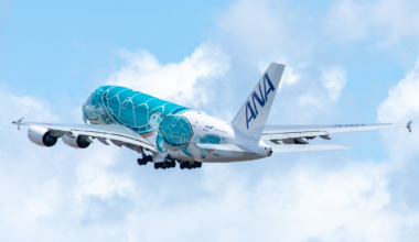All Nippon Airways, Airbus A380, Hawaii