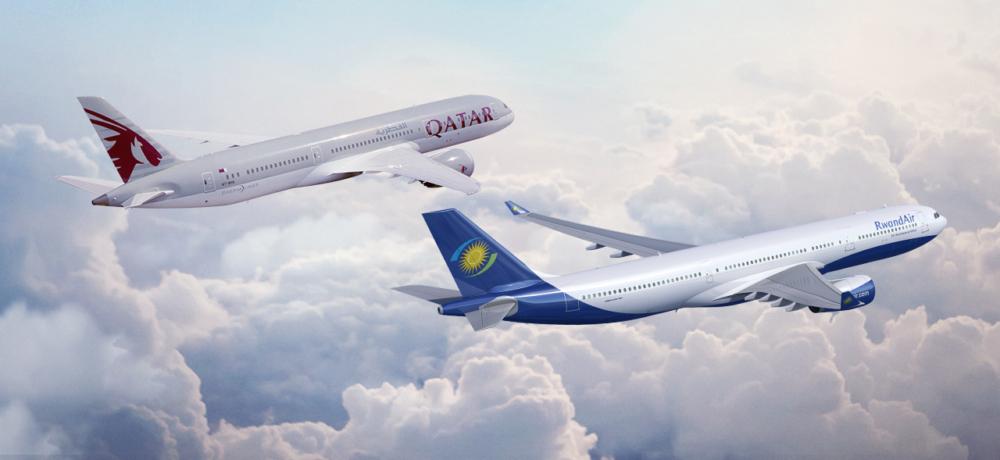 Qatar Airways RwandAir