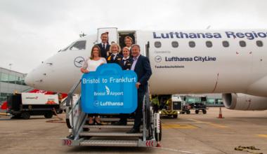 Lufthansa, Lufthansa CityJet, Bristol