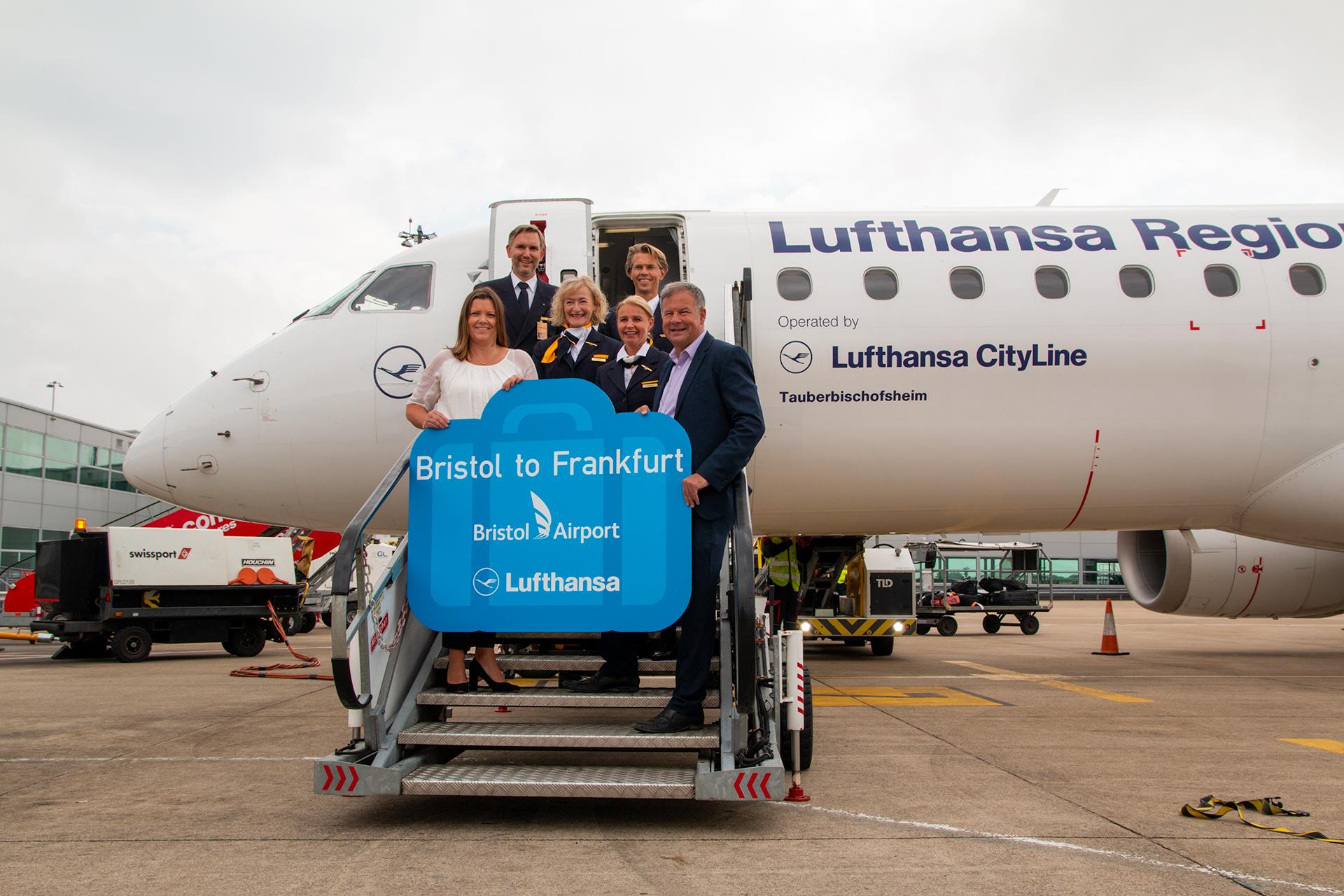Lufthansa, Lufthansa CityLine, Bristol