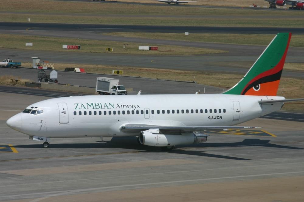 Zambia Airways 737