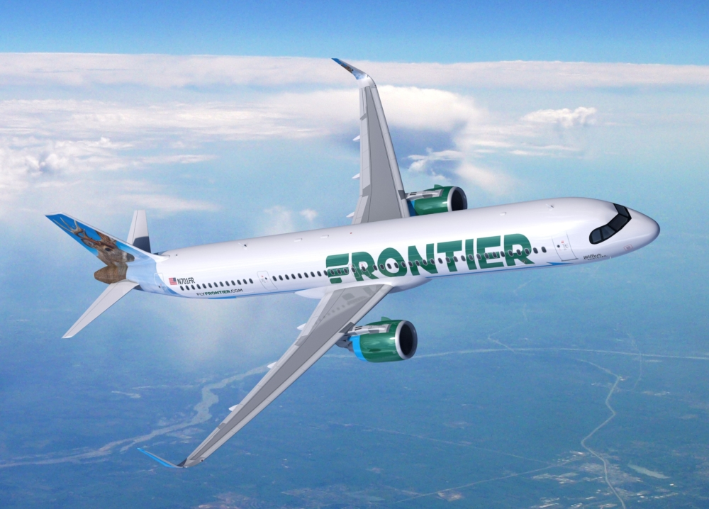 Frontier A321XLR