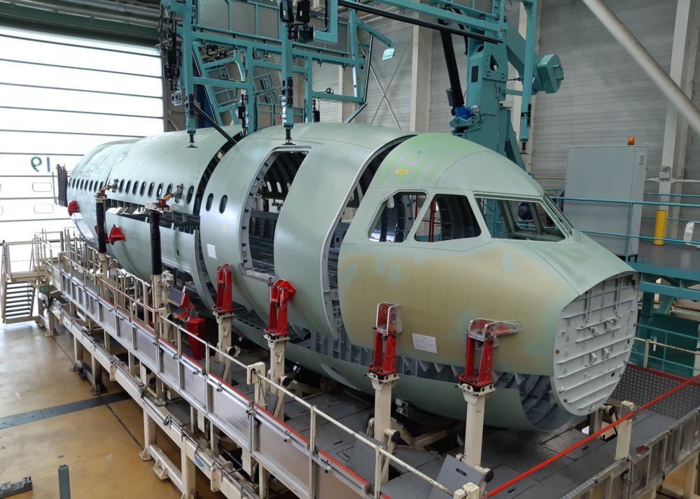 A321XLR Fuselage Front