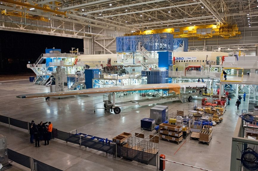 Airbus A350 Wing Join