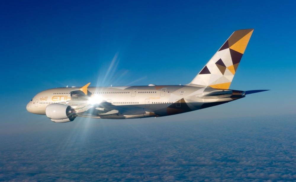 Etihad A380