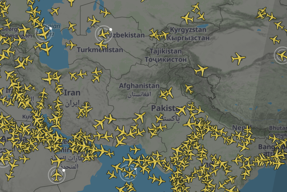 Afghanistan Airspace Left Uncontrolled Following US Departure