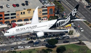 Air New Zealand Boeing 787-9 Dreamliner ZK-NZL (2)
