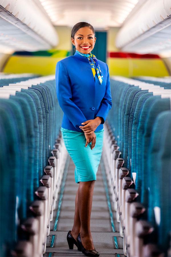 Air Seychelles new uniform