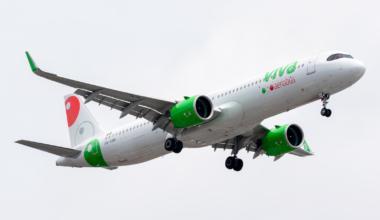 Airbus A321-271NXLR VivaAeroBus XA-VBK MMMX Jun 28 2021 AF 01