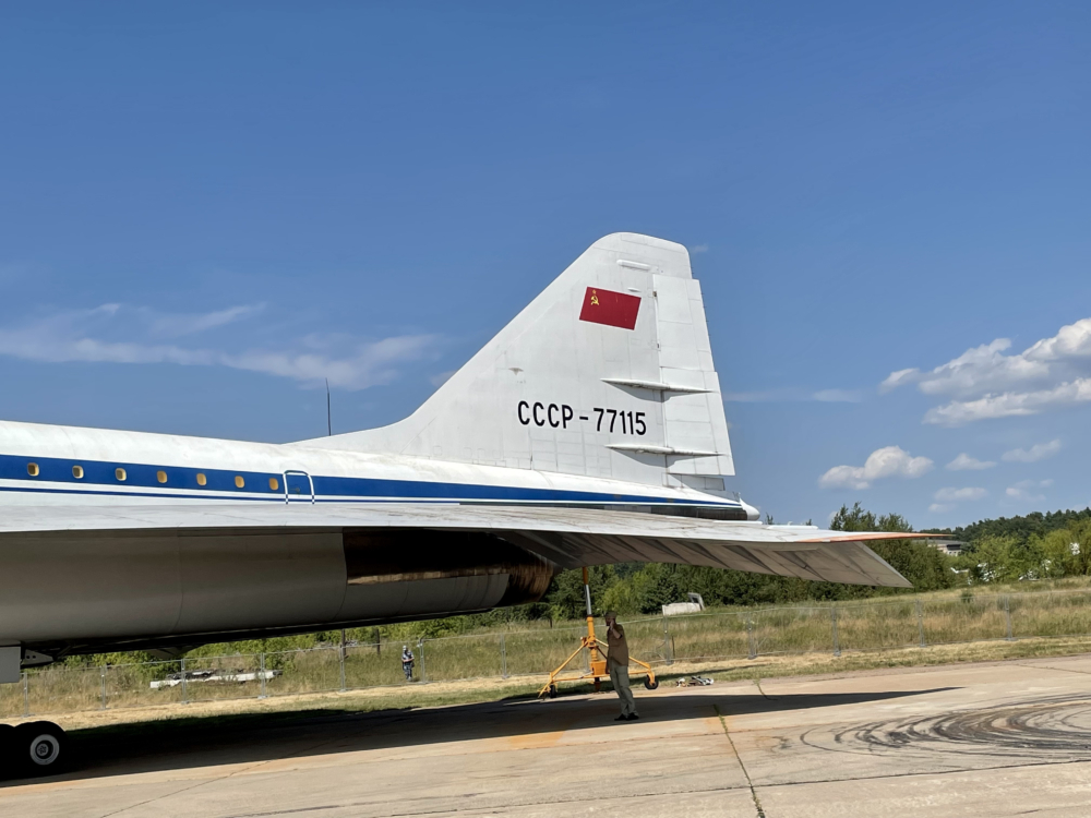 Tupolev Tu-144 Tail