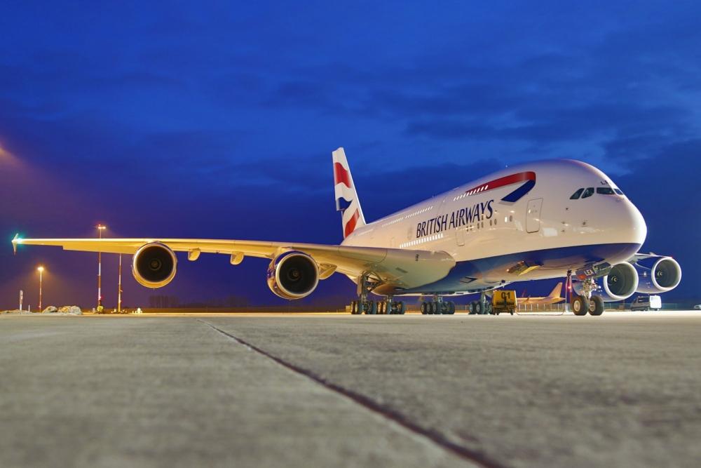 British Airways, Airbus A380, March 2022