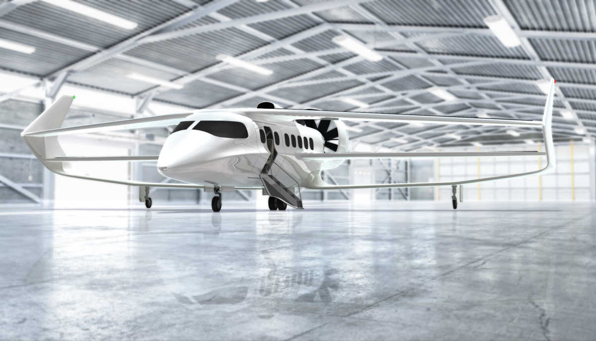 The Hybrid-Electric Plane That Will Switch From Passenger to Cargo In 15 Minutes