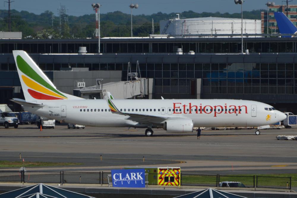 Ethiopian 737-800