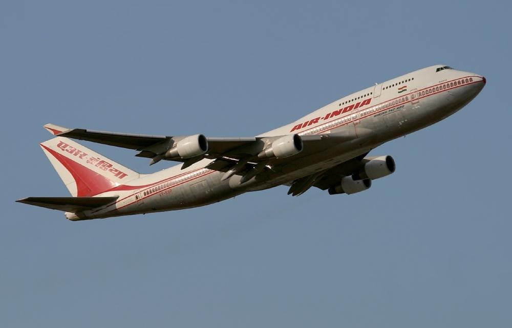 Air India B747-400