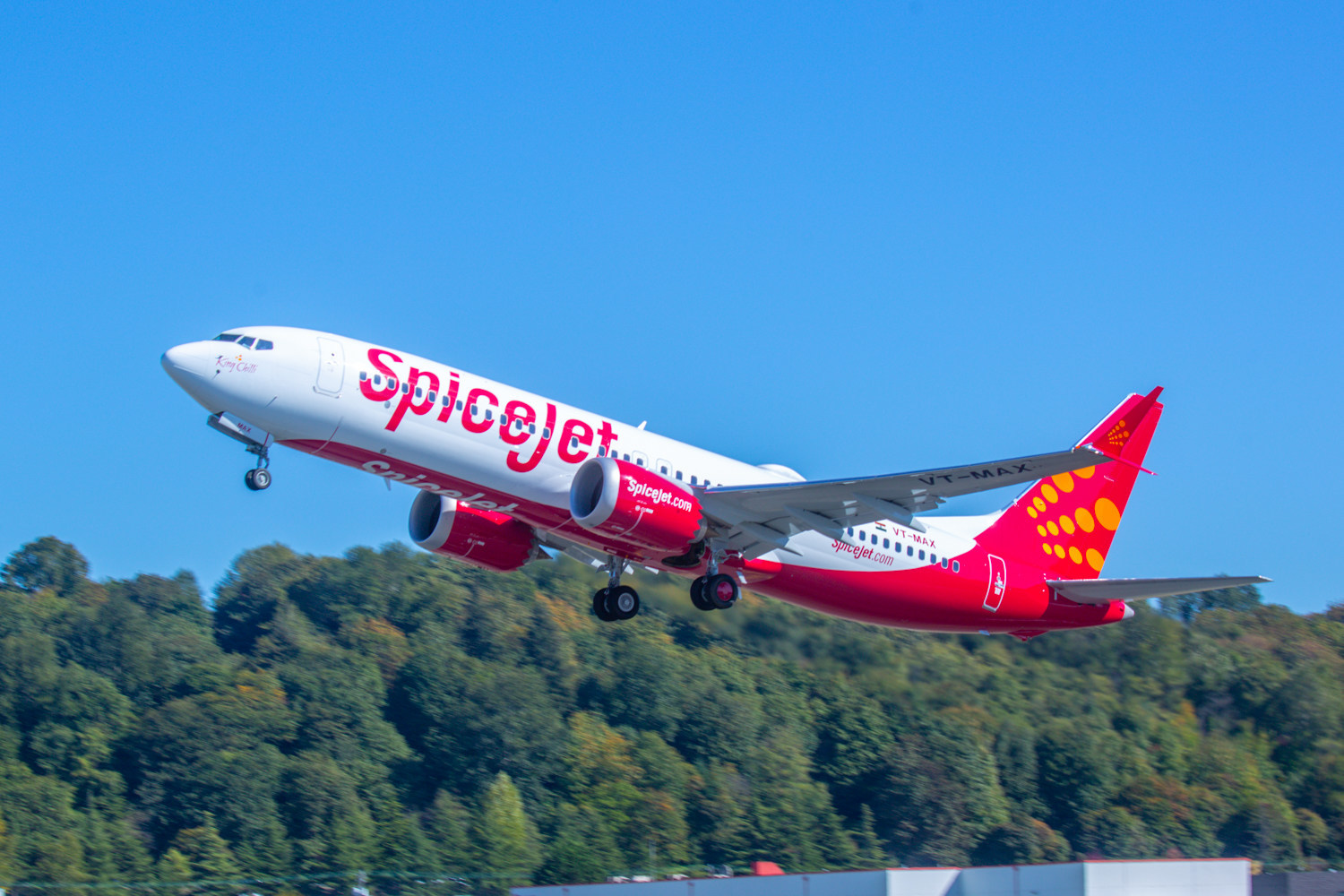 SpiceJet, Boeing 737 MAX, Return To Service