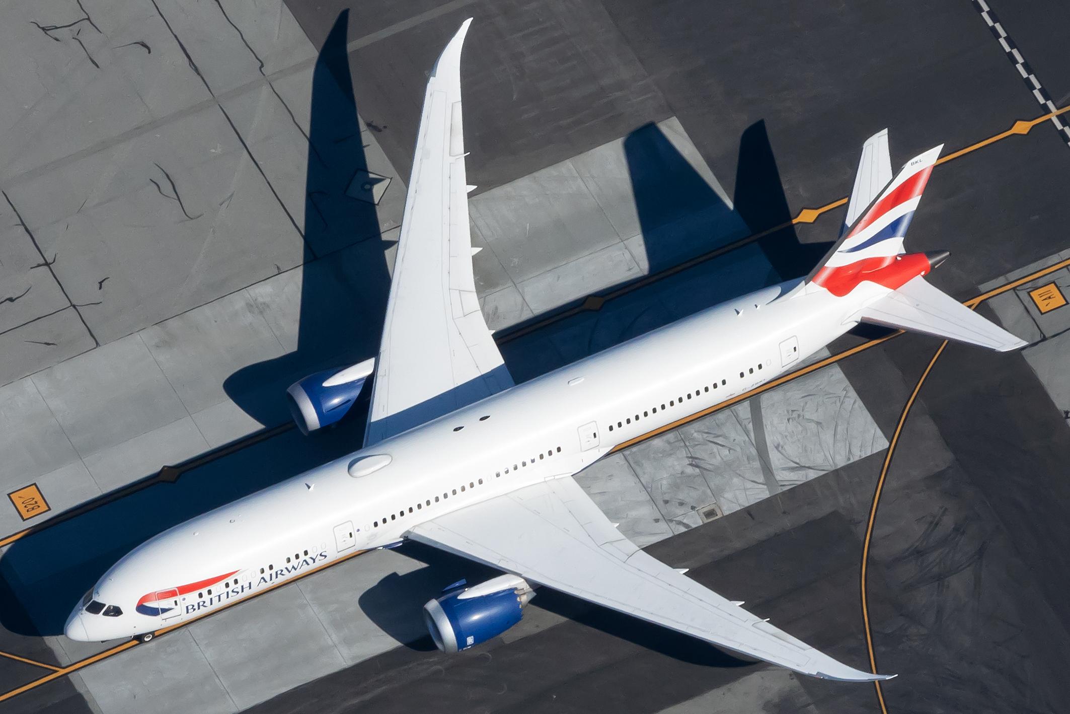 British Airways, Boeing 787, Short Haul