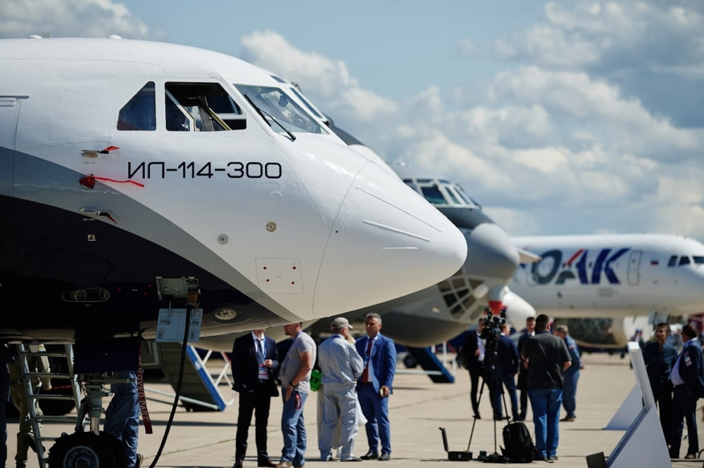 Il-114-300 Side