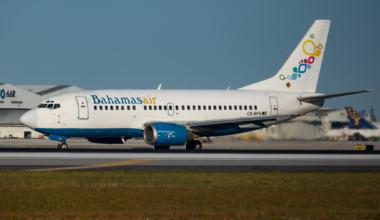 Bahamasair B737-500