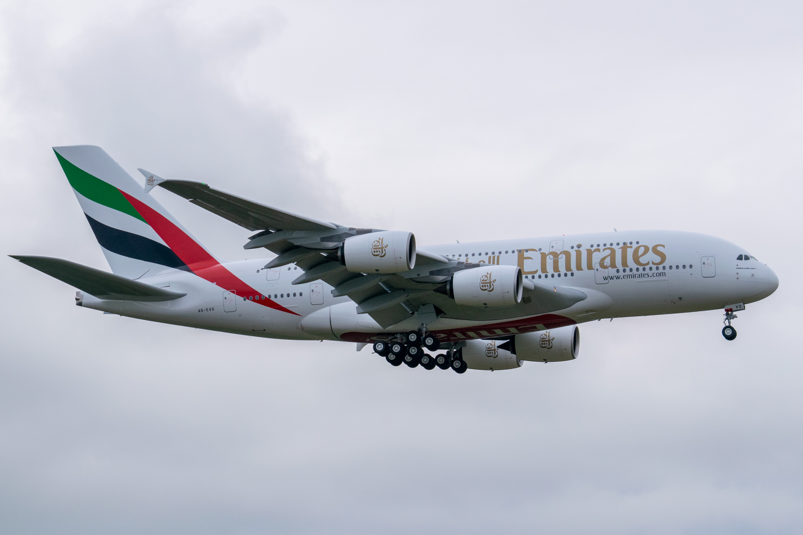 Emirates, United Kingdom, Red List