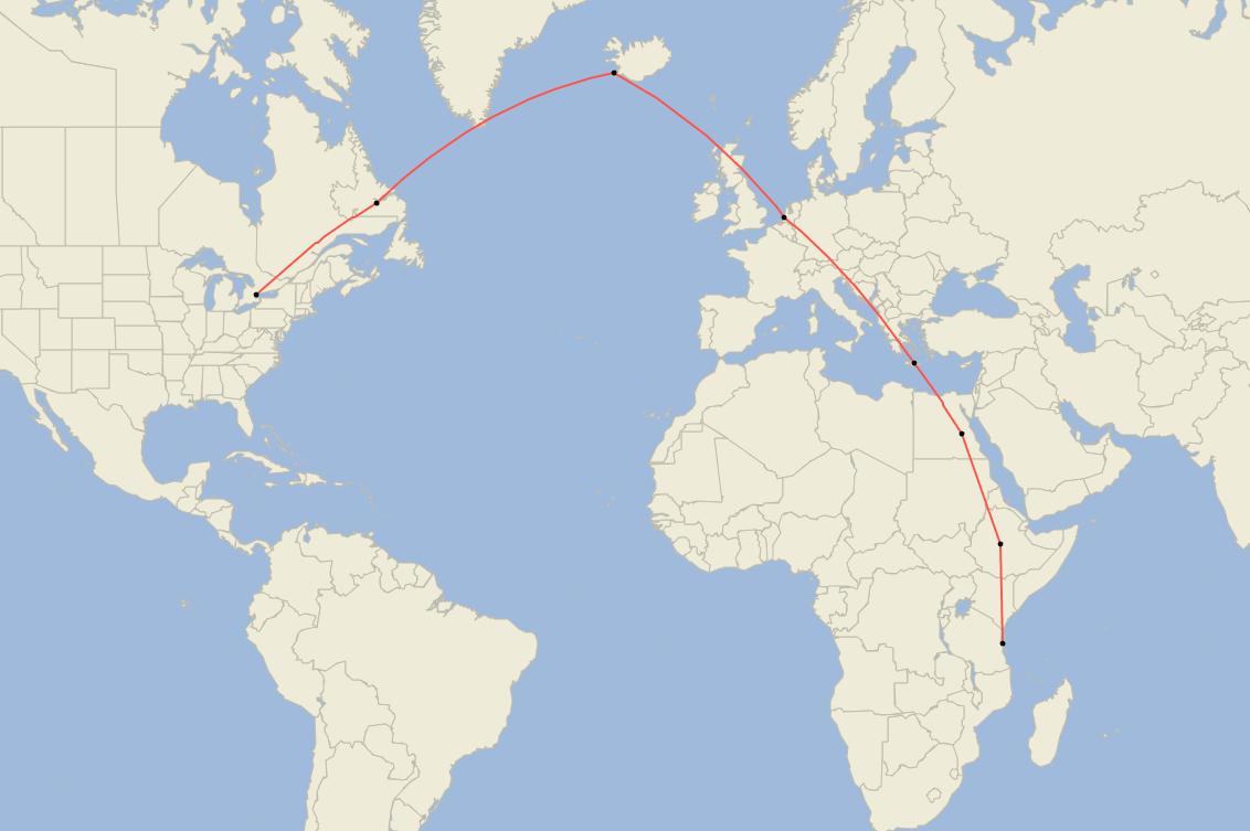 DeHavilland, Air Tanzania, Last Delivery