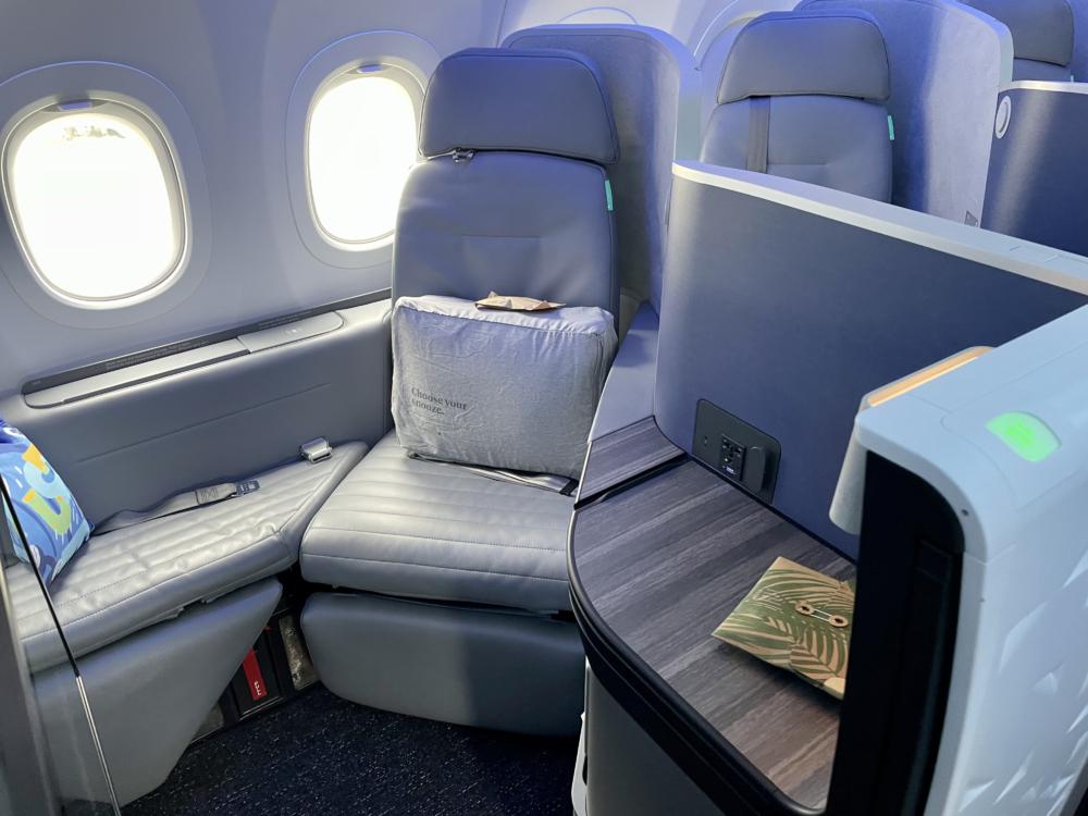 JetBlue A321LR Cabin