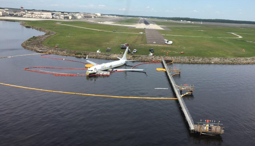 737 runway excursion