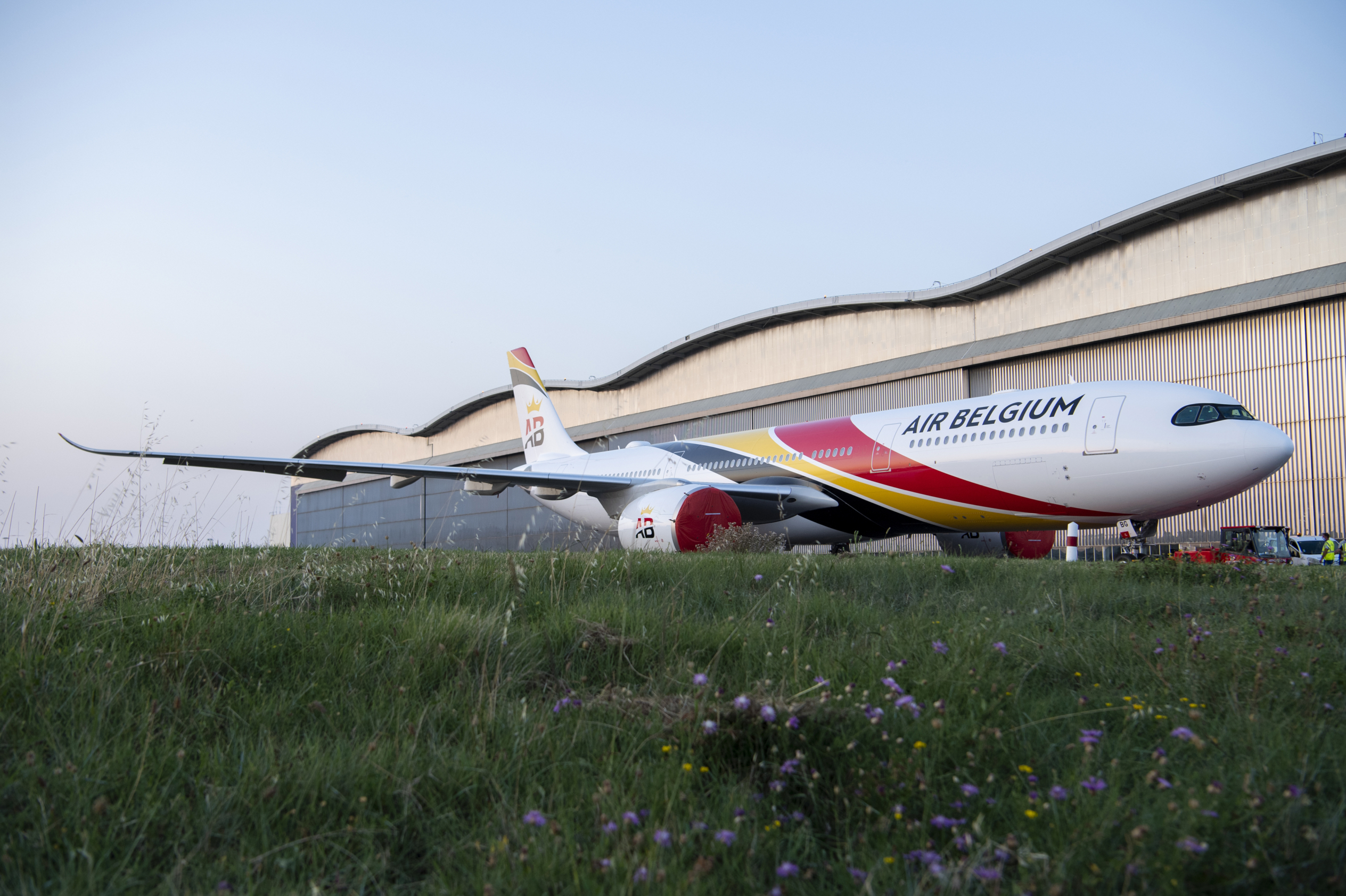 Air Belgium, Airbus A330neo, Livery
