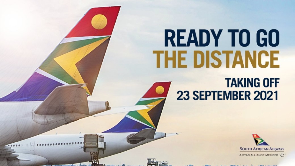 South African Airways Confirms Its Return To The Skies Next Month
