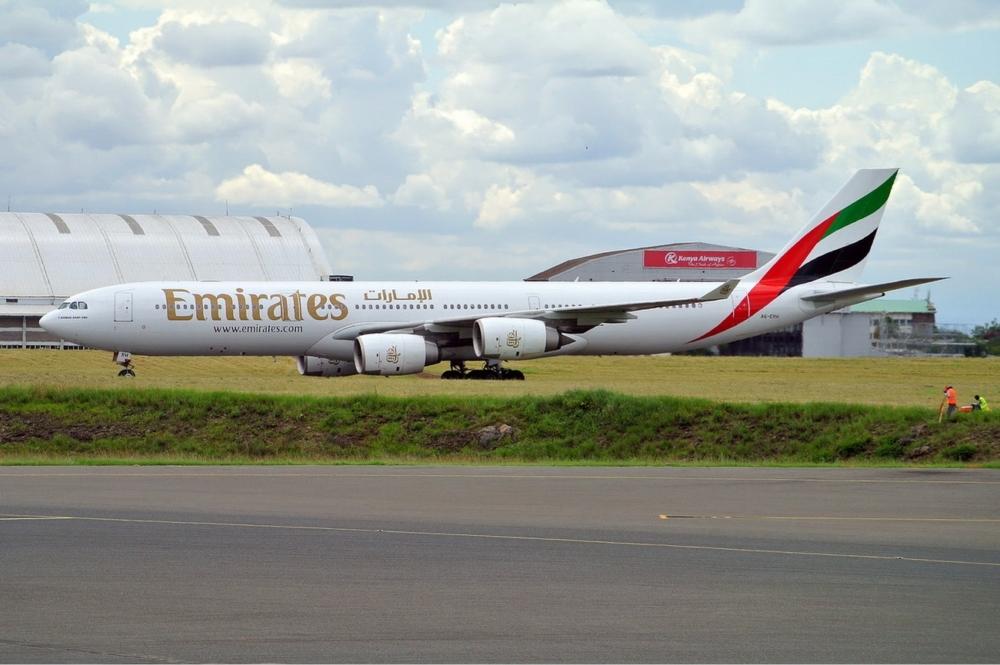 Emirates A340-500