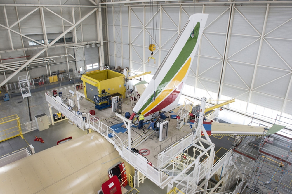 Ethiopian A350 Tail