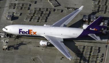 FedEx McDonnell Douglas MD-11F N587FE