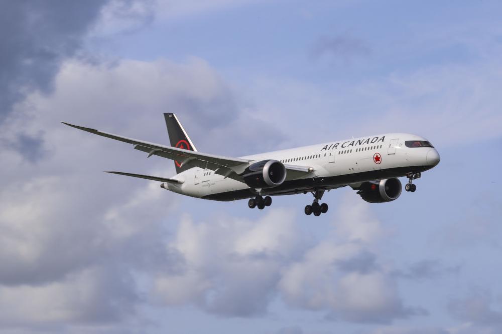 Air Canada Boeing 787 Getty