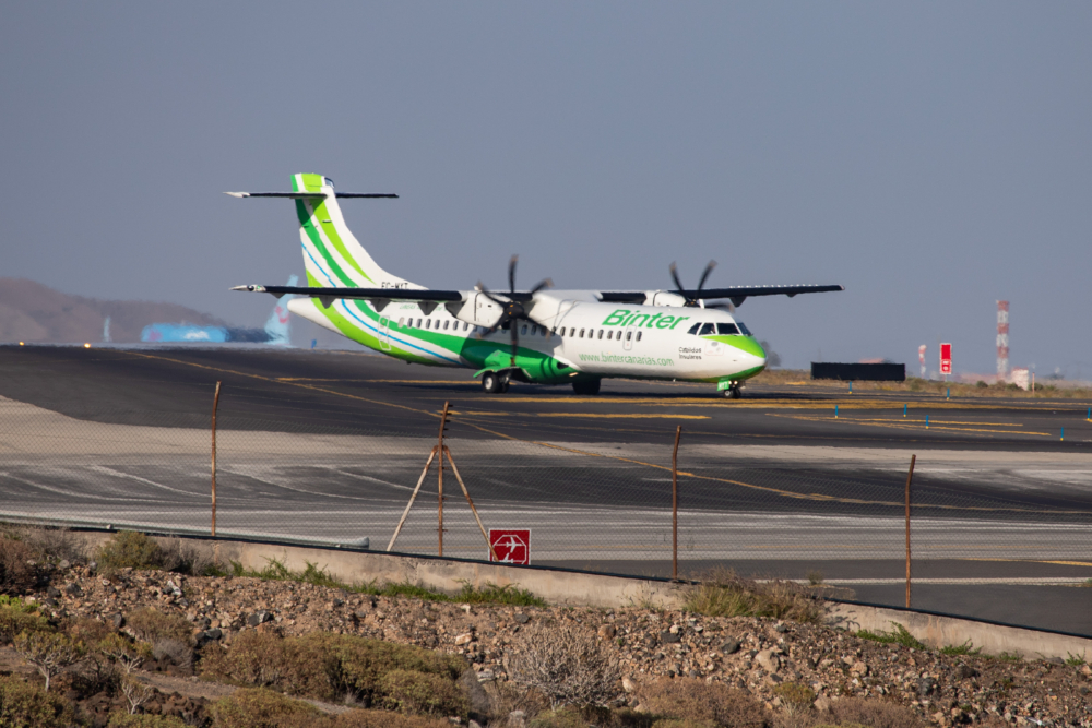 Binter Canarias ATR 72 Turboprop Airplane