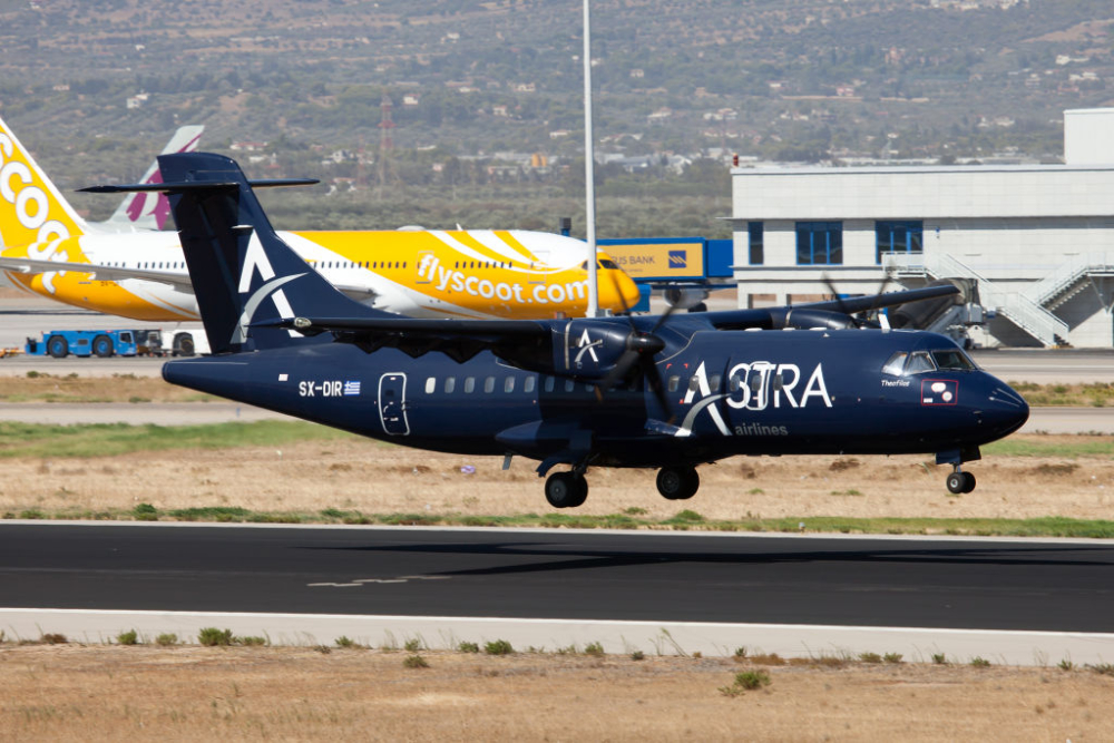 Astra ATR42 Getty