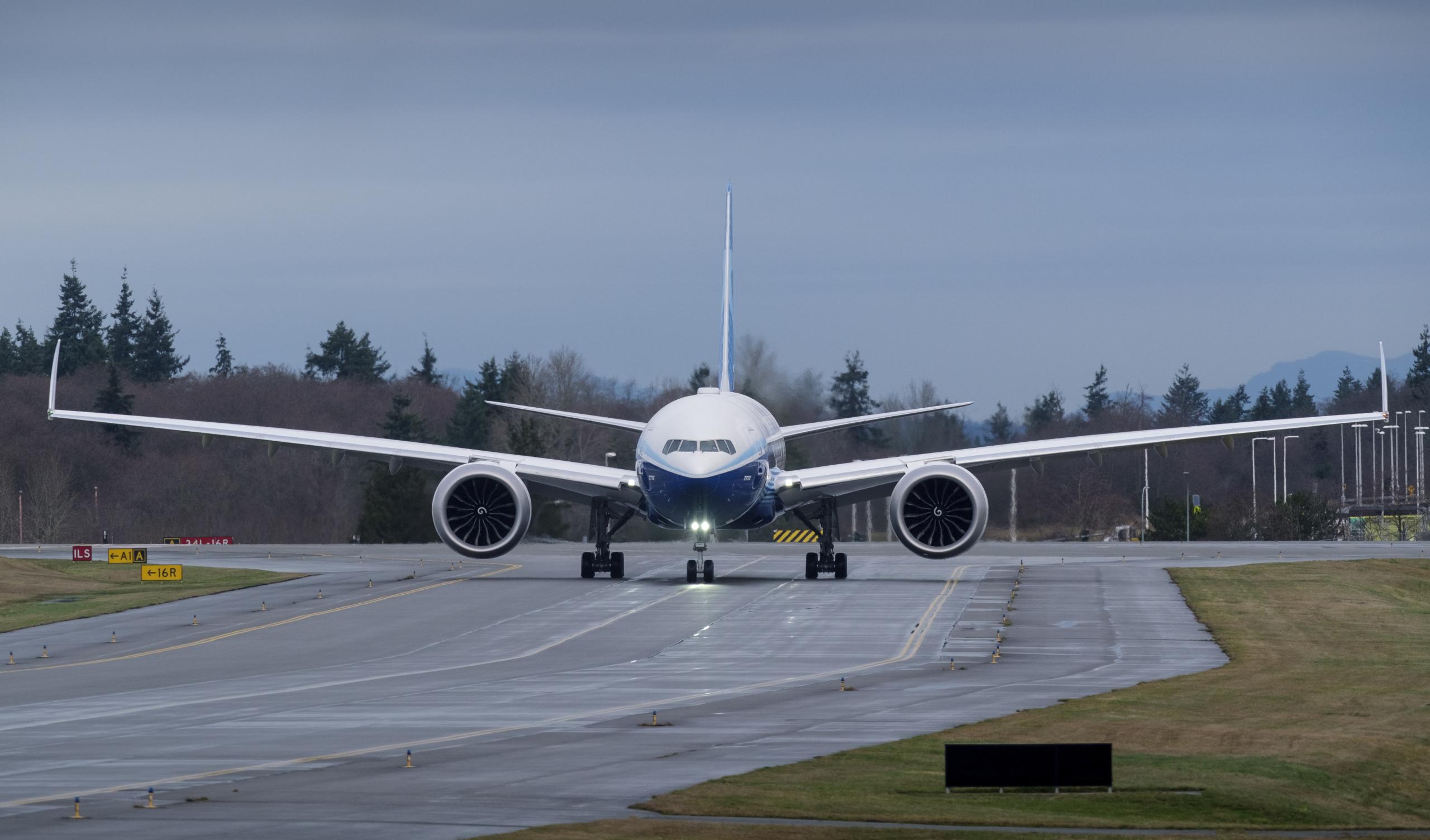 Etihad Airways, Boeing 777X, Delivery