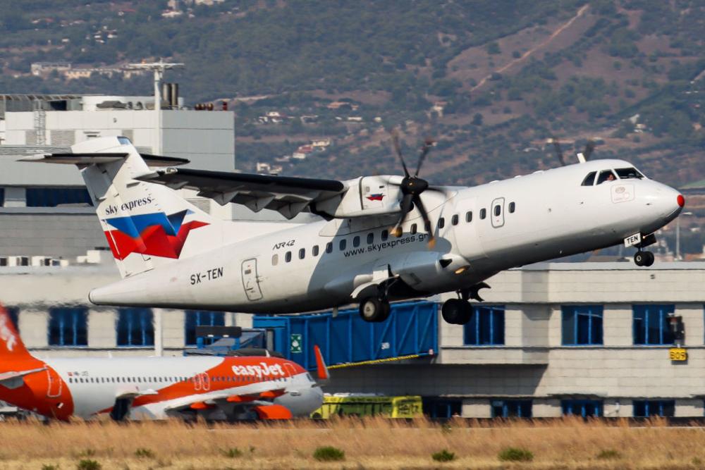 Sky Express ATR 42 Getty