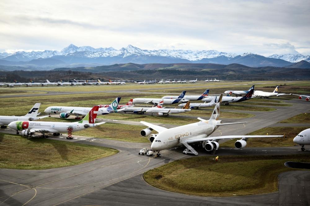 Etihad Airways, Airbus A380, Return