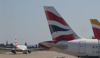British Airways Heathrow Getty