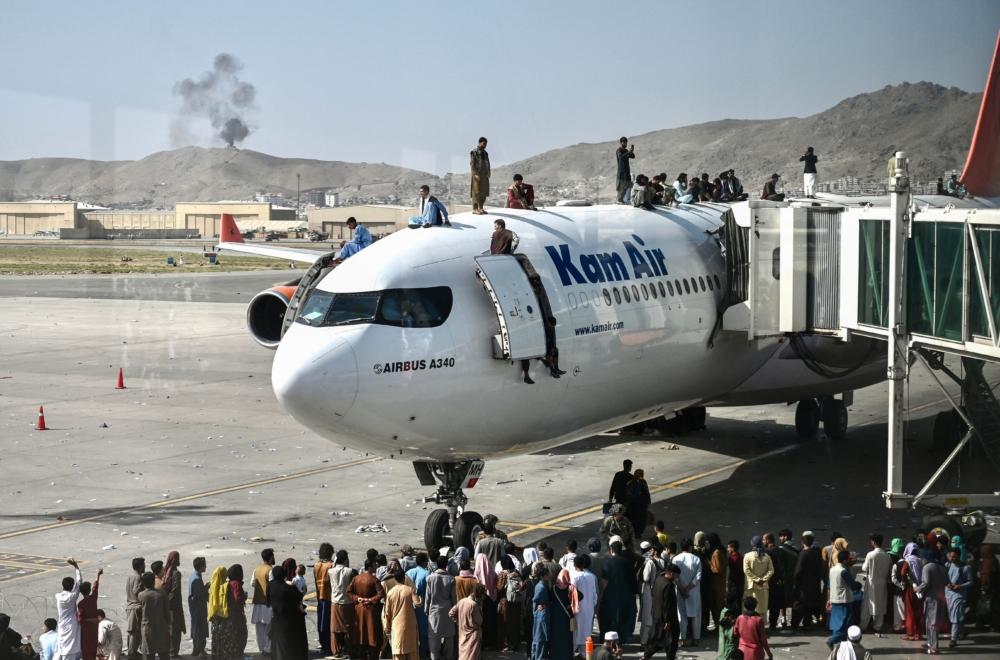 Kam Air A340 Kabul Airport