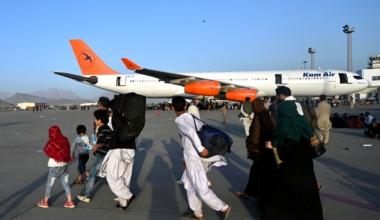 Kam Air A340 Kabul Airport Stranded