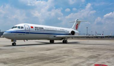 Air China COMAC ARJ21