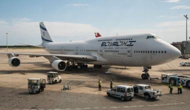 El Al Boeing 747 Getty