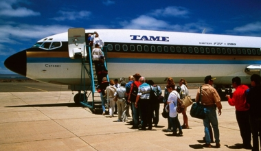 TAME Ecuador Boeing 727 Getty