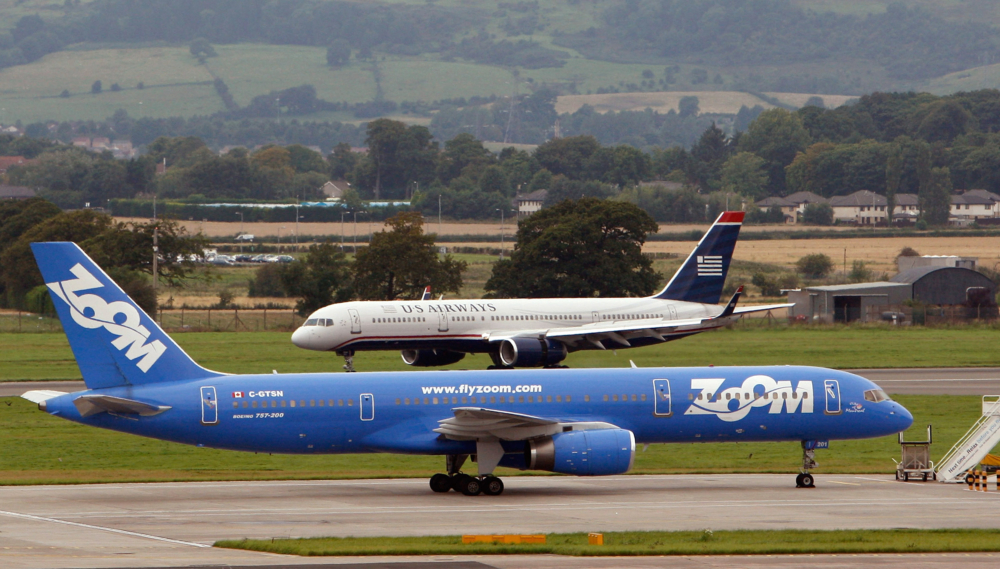 Zoom Airlines Boeing 757 Getty